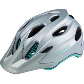 Alpina Carapax Jr. Helmet steelgrey-smaragd